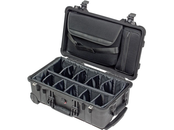 Peli Case 1510 SC with divider set and laptop sleeve