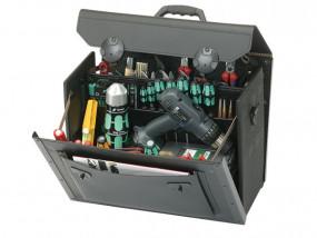 Leder-Werkzeugtasche Top-Line mittel II