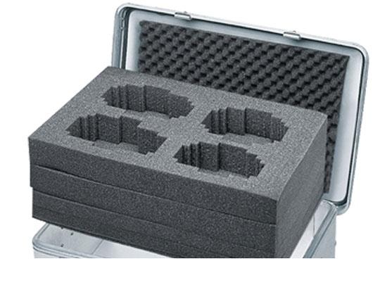 Würfelschaumstoff-Set für Zarges Mobilbox K424 XC 105 l
