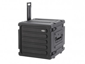 "SKB Roto Shockmount Rack 19"" 10HE 20"" tief mit Trolley"