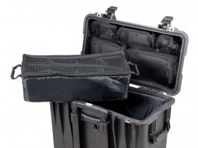 Photo lid organizer and Divider set for Peli Case 1440