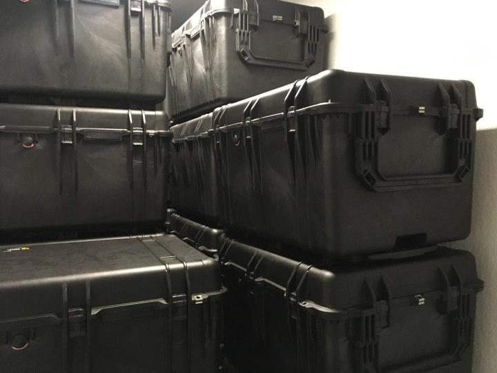 Peli Case 1660 um die halbe Welt - IT-Kunde aus Bonn versendet elektronisches Equipment