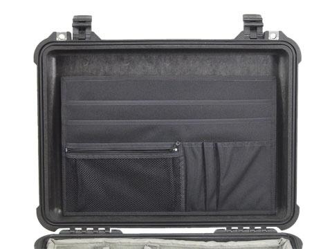 attaché case insert for peli 1500 1520 lid organizers