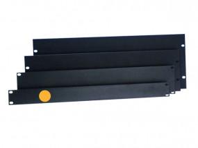 """Panneau rack en aluminium 19"""" 1U plat"""