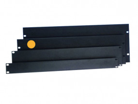"Rack-Blende 19"" 3HE Aluminium U-Form"