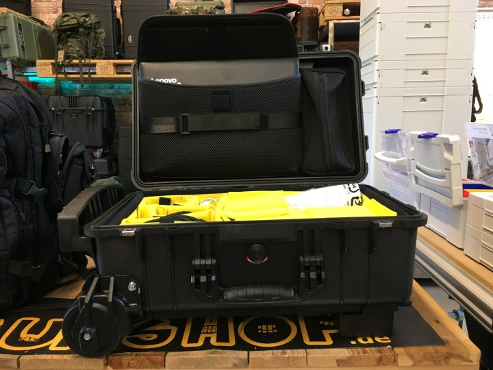 Industriekletterer aus dem Hunsrück sucht Beamerkoffer - Peli Case 1510 Mobility SC