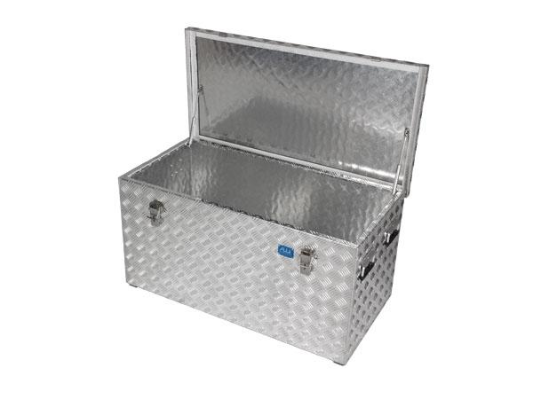 Aluminium-Riffelblechbox R250 l