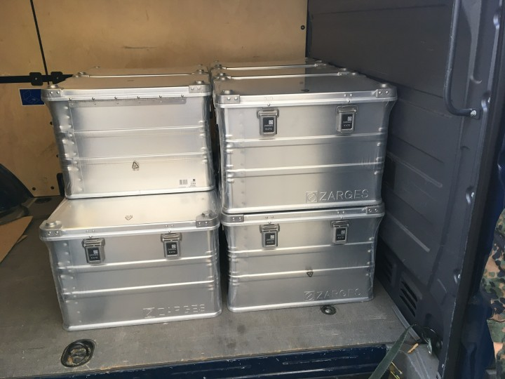 Einheit verlegt ins Ausland - Aluminiumbox  Zarges K470 70 l - Abholung in Bonn