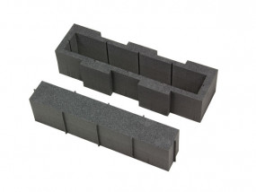 Hard foam laptop compartment II 430 x 110 mm