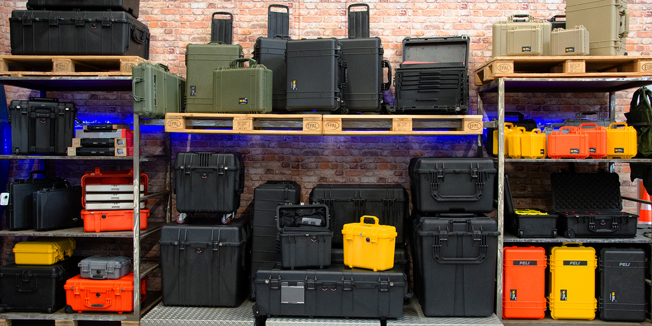 Peli Cases - our exhibition